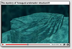 The mystery of Yonaguni underwater structure