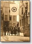 Die Delegierten der zweiten Versammlung des Roerich-Paktes, Brьgge, Belgien, 1932