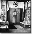 Das N.K.Roerichs Arbeitszimmer in Tal Kulu, Indien, 1933