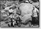 N.K und J.N. Roerich in Mongolei, 1934-35