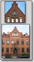 Das Gebдude der Rudolf-Kobov-Stiftung, 1907, Stadt Wismar, Deutschland