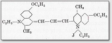 ,l'-Diäthyl-2,4'-dimethyl-6,6'-diäthoxydizyaninjodid