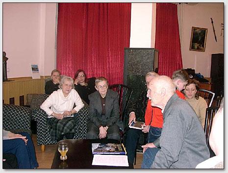 Schöpferisches Treffen mit dem Schriftsteller J.M.Kljutschnikov