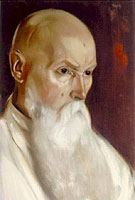 Porträt von Nikolaj Roerich (1944)