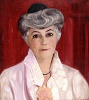 Porträt von Helena Roerich