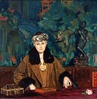 Porträt von Helena Roerich (1937)