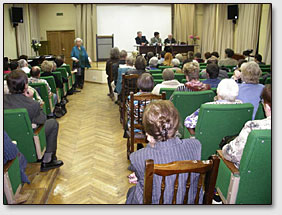 "Roundtable zum Thema ""Zinaida Fosdik und das Museum Nikolas Roerich in New York"""