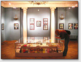 Sammlung der einzigartigen postalischen Postkarten mit der Darstellung der Roerich-Bilder
