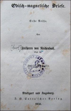 Odisch-magnetische Briefe, Zweite Ausgabe, 1956.