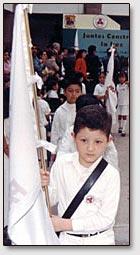 Die Schulle der mexikanischen Stadt Saltillo