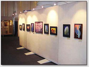 Die Reproduktionen von der Roerichs Gemälde.