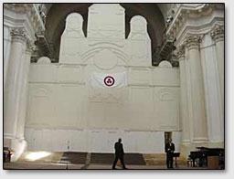 Ansicht auf die Ikonenwand der Kathedrale.