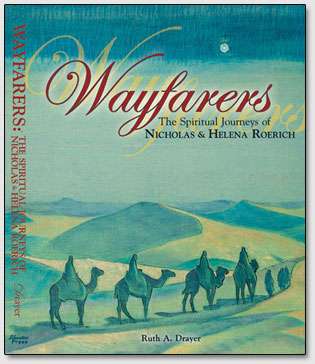"Umschlag des Buchs ""Wayfarers: The Spiritual Journeys of Nicholas & Helena Roerich"""