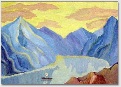 nach Roerichs Gemaelde