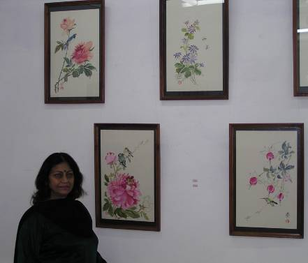 Harmony - Water colors paintings by Uma Bhardwaj,  Sundernagar, H.P.