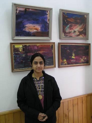 The Journey - Paintings and photos by Sheetal Rana, Varanasi