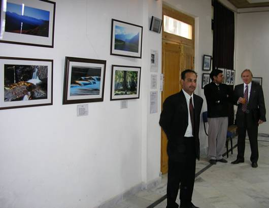 'The Sound of Silence' - Photo exhibition by Rahul Sud, Kullu, H.P., inaugurated during  the 70th Anniversary of the Roerich Pact and Banner of Peace.