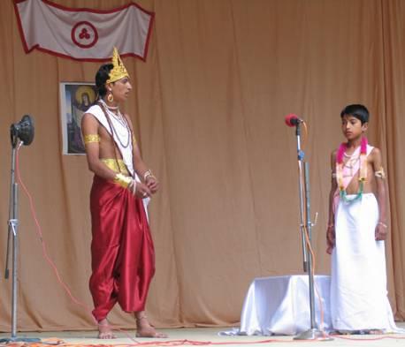 9.10.2005, N.Roerich Birth Anniversary annual function, Folk Drama and Kathak dance performance