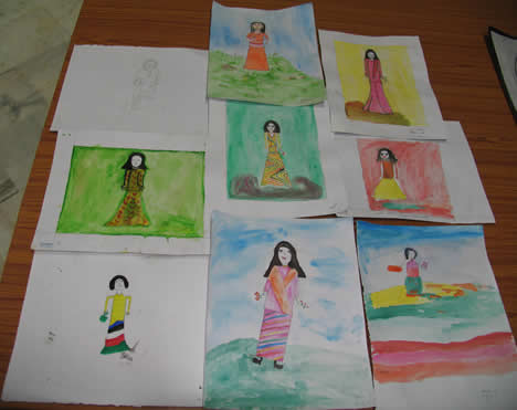 30th March 2006, Devika Rani Roerich Birthday function, film show, exhibition  and painting competition organized at the Art College