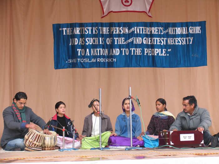 13.02.2007 - Celebration of Helena Roerich's Birthday: concert