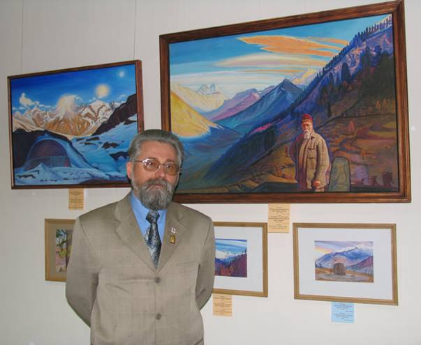 'From the Carpathians to Himalayas' - painting exhibition by Vladimir Kozar, Ukraine