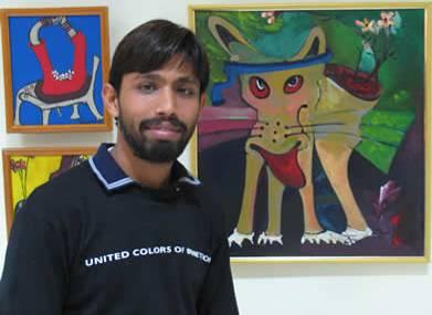 'Chitralekha' - Painting exhibition by Ravi Kant Jha and Rita Kulkarni, Madhya Pradesh, India