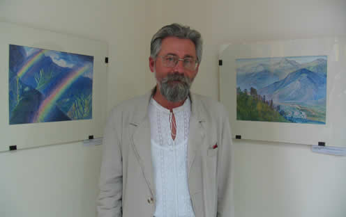 'By Roerich's Paths…' - Painting exhibition by Vladimir Kozar, Kiev, Ukraine