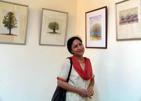 'Shikhara' - Painting exhibition by Sushma from Jalandhar, Punjab, and