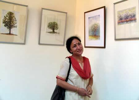 'Shikhara' - Painting exhibition by Sushma from Jalandhar, Punjab, and