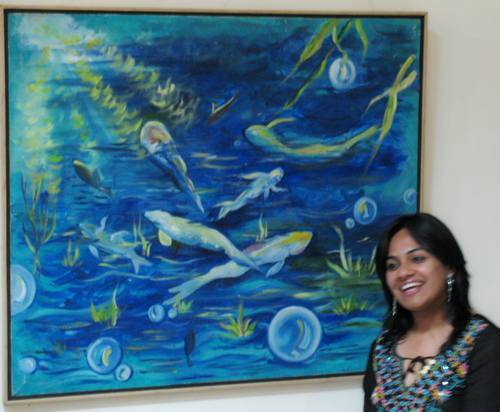 'Prism' 2007 - A group show by Fine Arts students, Apeejay  College of Fine Arts, Jalandhar, Punjab