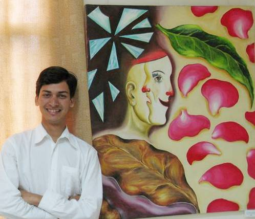 'Prism' 2007 - A group show by Fine Arts students, Apeejay  College of Fine Arts, Jalandhar, Punjab