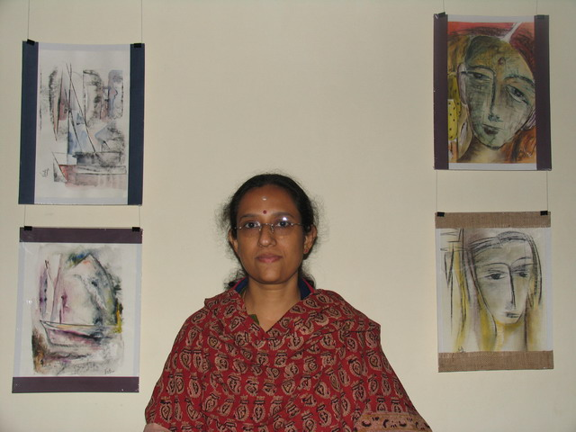 'Tal' - Painting exhibition by  Vinitha Anand,   Trivandrum, Kerala