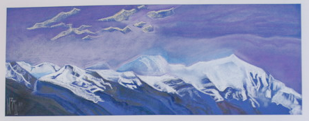 'Holy Himalayas' - Painting exhibition by Natalia Zaitseva - Borisova, Russia