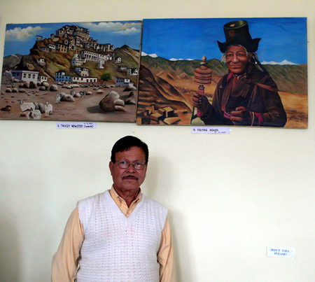 'Glimpses of Nature' - Painting exhibition by Hira Singh Negi, Bhuntar, Himachal Pradesh