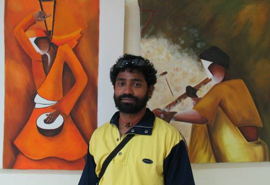 'REVELATION'- Painting exhibition by Pradip Ghosh, Delhi
