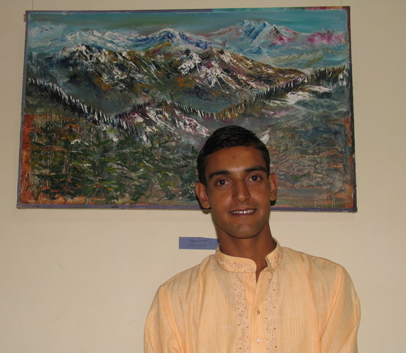 Painting exhibition 'PRAYAS' by Vivek Sharma, Mohal, Kullu, Himachal Pradesh