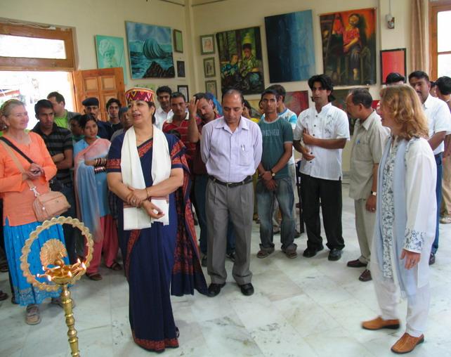 'BEYOND STROKES' - Painting exhibition by Kiran Soni Gupta, Jodhpur, Rajasthan