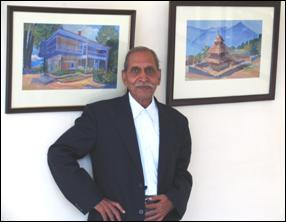 'Devbhoomi' - Painting exhibition of landscapes by S.K.Shinde, Gwalior, Madhya Pradesh