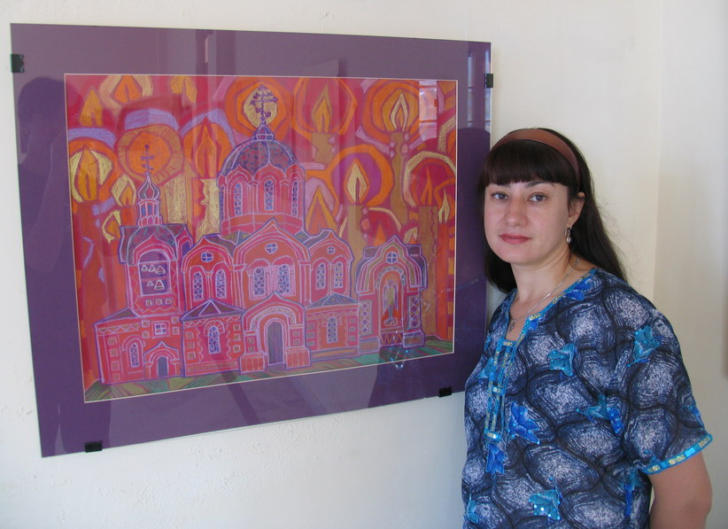 'Sacred Places of Ancient Russia' -  Painting exhibition by Natalya Zaitseva-Borisova, Moscow, Russia