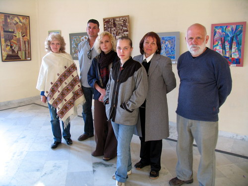 'Soul Aspirations' - Exhibition of paintings and weaving works from Saratov's Government Technical Institute, Russia