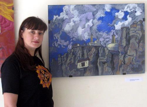 'Ladakh - Stronghold of the Spirit'- Painting exhibition by Natalia Zaitseva- Borisova, Russia