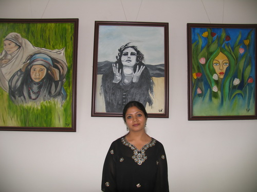 'Mind and beyond the mind' - Painting exhibition by Rubel Pasricha, Kullu, Himachal Pradesh