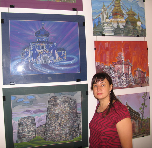 From Gems of the Past to the Stars of the  Future - Painting exhibition by  Natalia Zaitseva- Borisova, Moscow, Russia