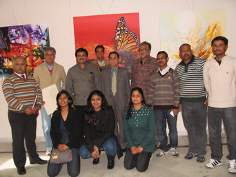 Regional Painters Camp 2011 (LKA, New Delhi; LAC dept., H.P. Govt. & IRMT)