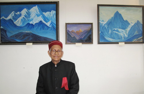 'Sacred Himalayas' - Painting exhibition by Sukh Dass, Lahul