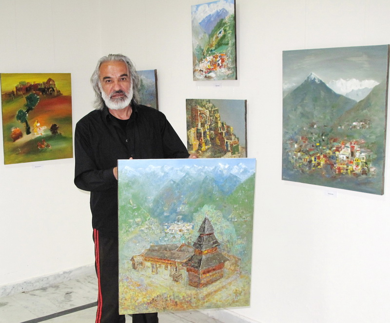 'Spirit of the Himalayas' - Painting exhibition by Asliddin Isaev,   Uzbekistan