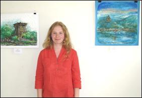 'Simplicity' -  Painting exhibition by  Daria Raldugina, Samara, Russia