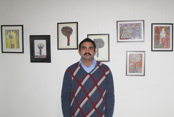 Painting exhibition by Rajdeep Singh, New Delhi