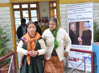 Photo exhibition - 65th Anniversary of Diplomatic relations:  Russia-India