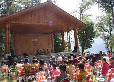Cultural program and concert by students of Helena Roerich Art College